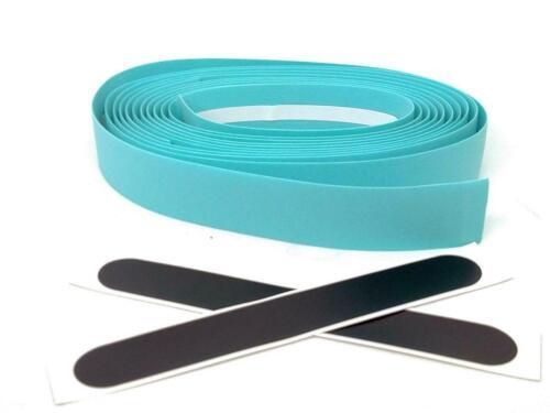 bikinGreen Celeste Bar Tape with Machined Bar end Cap//Plug Best Fit Bianchi Bike
