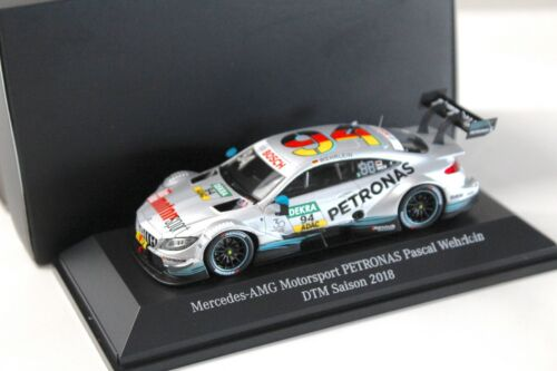 1:43 Spark mercedes c63 AMG DTM 2018 wehrlein #94 traficantes New en Premium-modelca