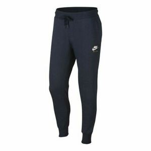 Nike-M-NSW-Mens-Sweatpants-Blue-Size-M-Sportswear-Bottoms-Trackies
