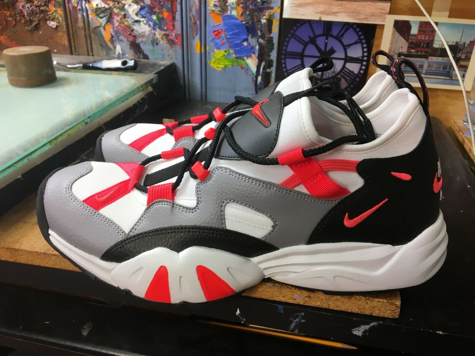 Nike air schreien lwp zement grau / schwarz - größe ah8517 11,5 männer ah8517 größe 002 be76db