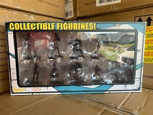 Borderlands-3-Diamond-Loot-Chest-Collector-039-s-Edition-10-Character-Figures-ONLY