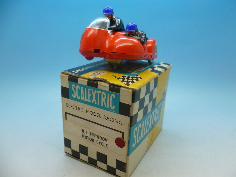 Scalextric B1 Typhoon Motor Cycle type 1 super condition and boxed