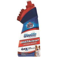3 Pk Woolite 18 Oz. Instaclean Pet Odor Stain Remover Washable Brush Animal Safe