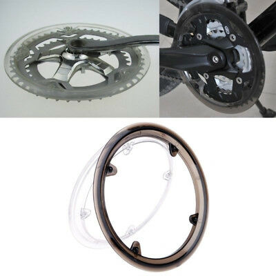 MTB Road Bike Chain Ring 42T 4 Holes Chainring Protect Cover Crankset Cap Shield