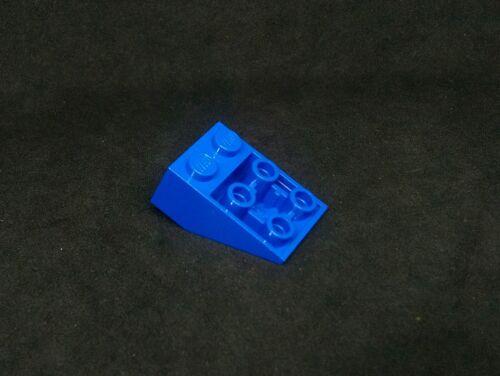 - Blu x8 3747 con connettori a bottone LEGO slope invertito 33 ° 3x2