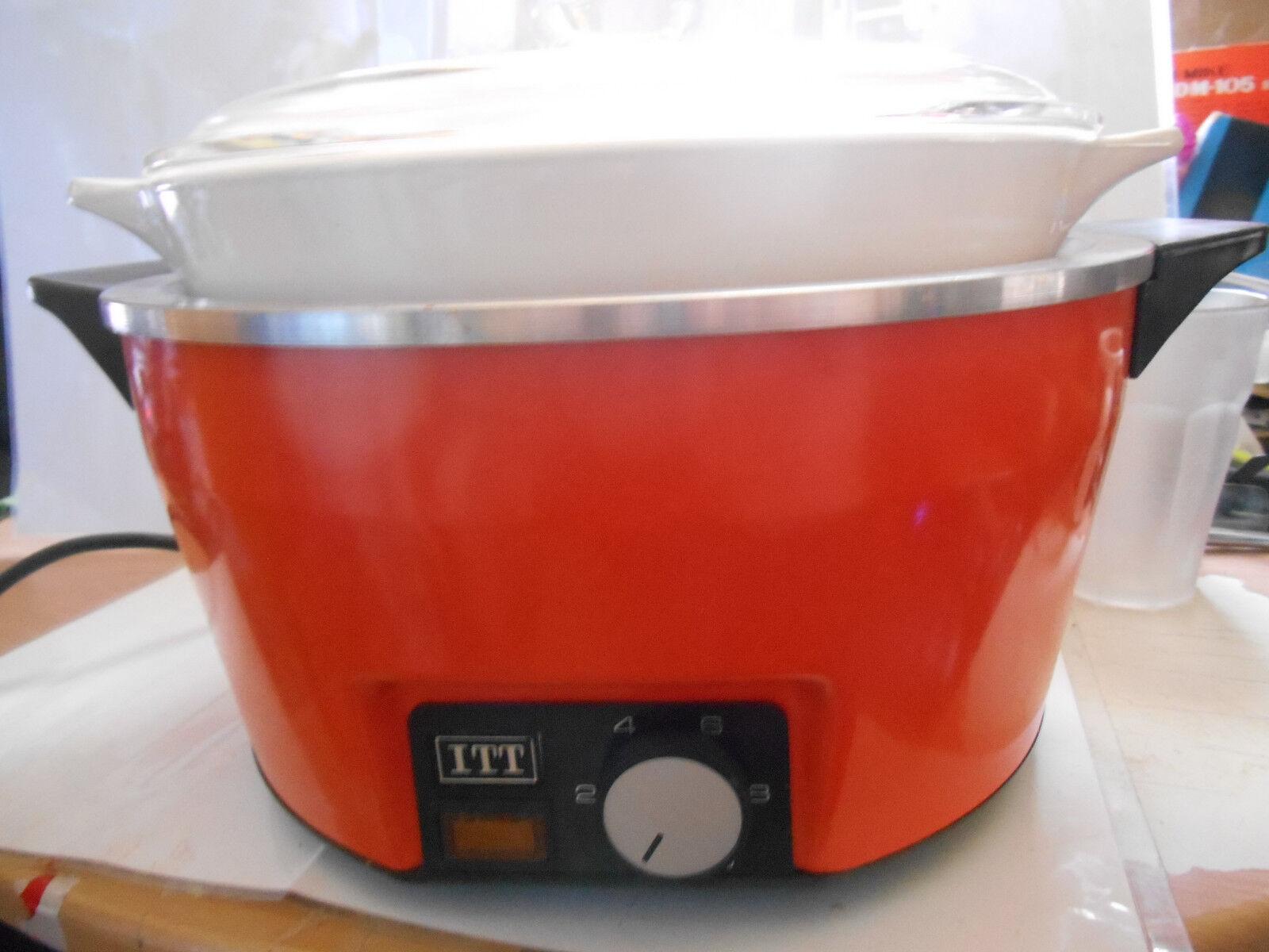 cocotte mijoteuse 2000 ITT 1975 -1977 vintage slow cooker old ancienne ancienne old 97ea66