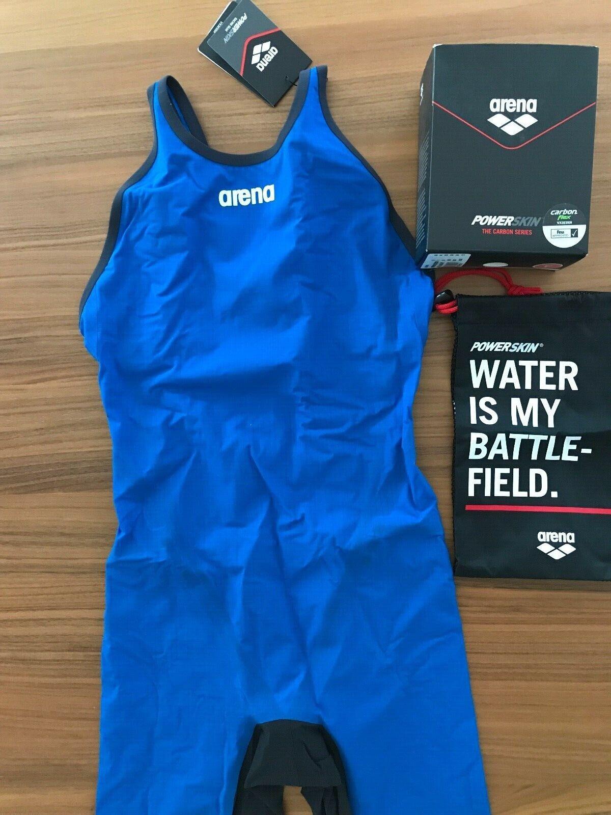 Arena Powerskin Autobon Flex VX Race Tech Suit Gesloten Back vrouwnen's US afmeting 34 USA