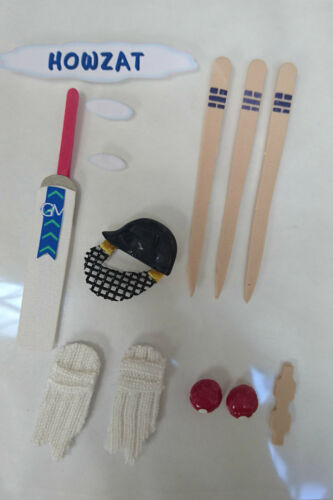 Cricket Sticker embellishment Fathers Day Cardmaking