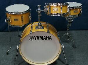 "Yamaha Stage Custom HIP Set ""Natural Wood"" - 20x8"", 10"", 13"" + 13"" SD"
