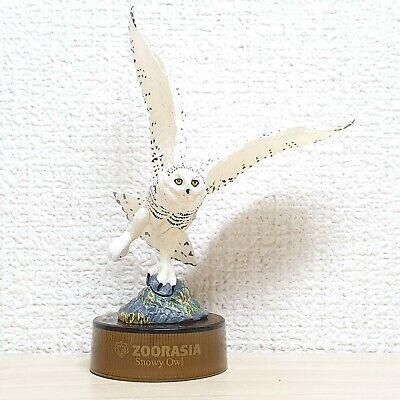 Kaiyodo Zoorasia SNOWY OWL Japan Yokohama Zoo exclusive bird animal figure