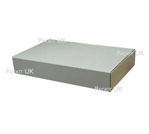 2 x white wedding dress suit garment boxes 650 x 420 x for Wedding dress shipping box