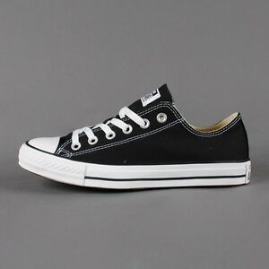 Converse-All-Star-Chuck-Taylor-Low-Top-Canvas-Black-White-New-In-Box-M9166