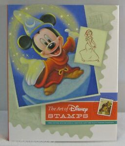 US-Post-Stamps-amp-Book-The-ART-OF-DISNEY-WALT-amp-Mickey-Art-Book-Loose-Stamps