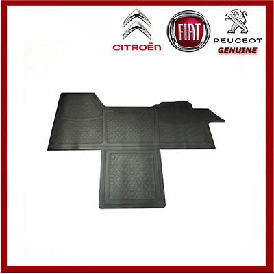 Heavy Duty Rubber Floor Mat Mats Citroen Relay 2006 /> Front Tailored Fit 1 Piece