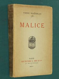 Malice-Pierre-MAC-ORLAN-E-O-ex-n-19-sur-Hollande-Van-Gelder