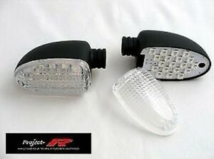 White Clear Indicator BMW K 1200 Gt Rear 2001-2005 Clear Signal Lenses Rear