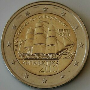 Piece-commemorative-neuve-de-2-euro-Estonie-2020