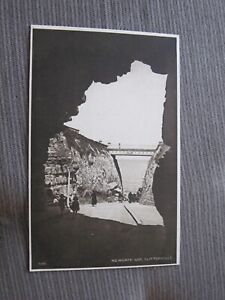 Early-Kent-postcard-Newgate-gap-from-cave-Cliftonville-Margate-Thanet