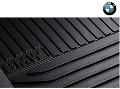 Original BMW 5er GT Allwetter Fussmatten hinten F07 Matten schwarz 51472346808