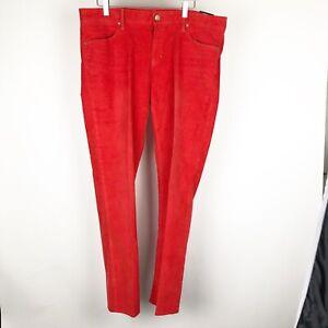 Gap-Women-039-s-Pants-Size-16-33-Always-Skinny-Corduroys-Red-Killer-Tomato