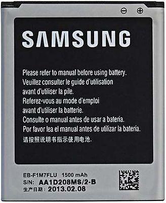 New Replacement Samsung Galaxy S3 MINI GT-i8190 EB-L1M7FLU Battery 1500 MAH 4PIN