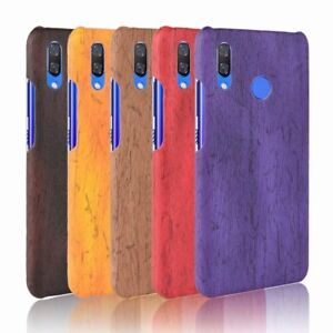 new product 74949 8ef10 Details about Ultra-thin PU Leather Wood Grain Case For Huawei Nova 3 Nova  3i Phone Bage Cover