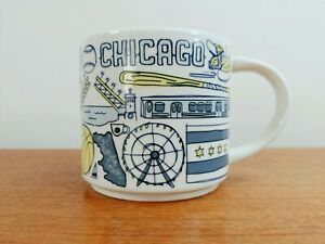 2018 Starbucks Been There Series BTS Global Collection Mug - Chicago - EXC