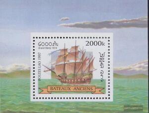 Laos-Block164-kompl-Ausg-postfrisch-1997-Segelschiffe