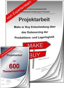 Technischer Betriebswirt Tbw Projektarbeit Präsentation Ihk Make