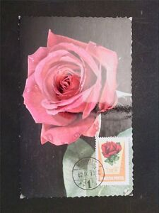 La Hongrie Mk 1962 Roses Rose Roses Maximum Carte Carte Maximum Card Mc Cm C6698-afficher Le Titre D'origine
