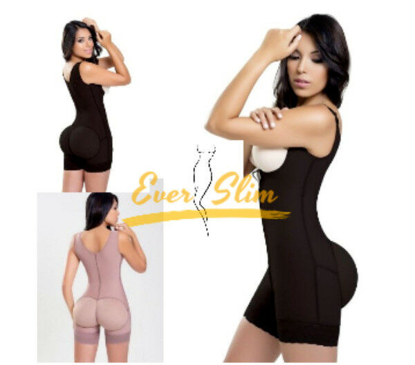 Hourglass Bodysuit Mid-Thigh Thermal Shapewear   Action  Weight Loss Fajate