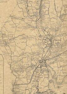 Norwalk Winnipauk South Norwalk CT 1867 Maps with Homeowners Names ...