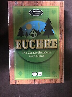 Euchre The Classic American Card Game New Free Shipping