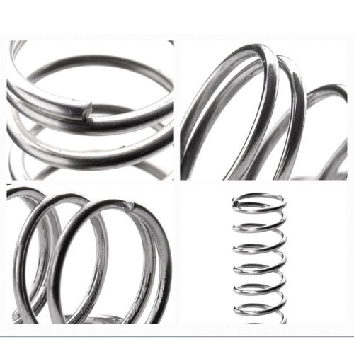 Details about  /Compression Spring Wire Diameter 0.8mm /& Length 60-100mm Pressure Small  Spring