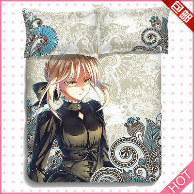 """Anime TouHou Project Bed Sheet Bed Cover Queen Size Full Set 59/""""X79/"""" 3Pcs 4pcs#9"""