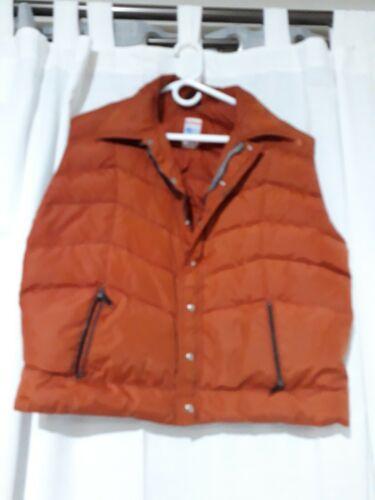 Vintage Frostline Kit Down Puffer Vest Mens Sz Lar