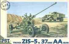 ZIS-5 TRUCK WITH 37MM AA GUN 1/72 PST72028