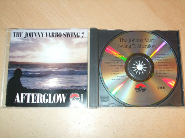 Johnny Varro - The Johnny Varro Swing 7 - Afterglow (CD) 15 Tracks - Nr Mint