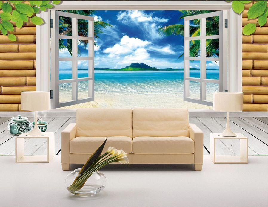 3D Sauber INS Meer 9453 Fototapeten Wandbild Fototapete BildTapete Familie