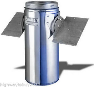 Selkirk 206420 6 Quot 6t Rsp Wood Stove Chimney Pipe Roof