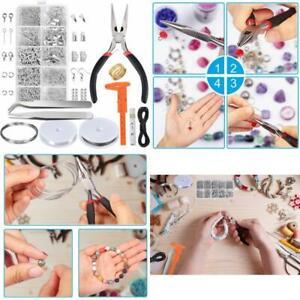 Material Para Bisutería Kit De Fabricación De Joyas Y Herramientas De Reparación Ebay