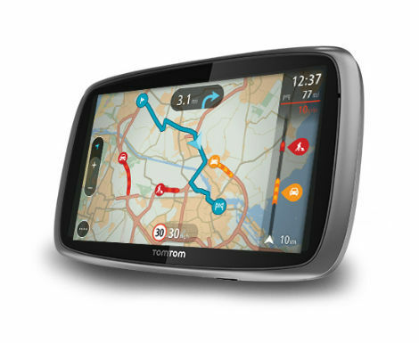 TomTom Trucker 6000 Automotive GPS Receiver (Missing Dock/Holder)
