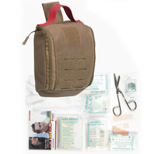 Mil Tec Ifak Individual First Aid Kit Military Molle Tactical 25