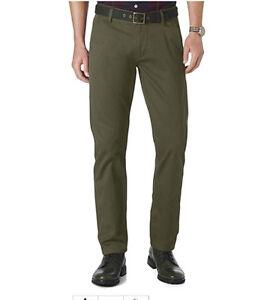 Dockers-Alpha-Khaki-Slim-Fit-Flat-Front-Tapered-Leg-Olive-Night-Pants