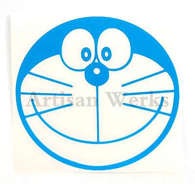 Doraemon Head Vinyl Decal Sticker MANGA JAPONAIS ANIME Voiture Fenêtre Ordinateur Portable Mur