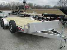 WOLVERINE 22' ALUMINUM CAR HAULER TRAILER * BEST DEAL OUT THERE!