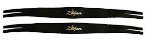 Zildjian P0750 Straps Leather Cymbal Black