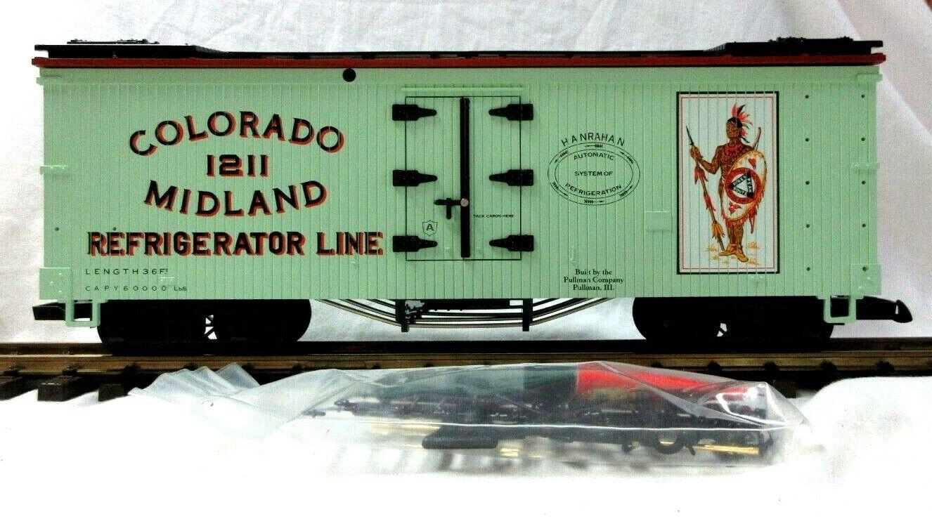 LGB 4072 - P 01 COLORADO & MIDLAND REEFER      NEW