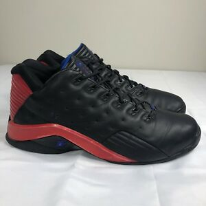 Details about VTG Reebok Allen Iverson Answer VII 7 Black Red Men's 13 OG AI Question Sixers