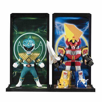 COMPLETE SET Power Rangers Tamashii Buddies Red Green Pink Ranger Megazord Zedd